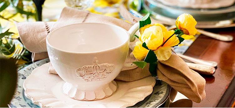 A mesa posta formal dos dias atuais | Por Lavinia Francesca
