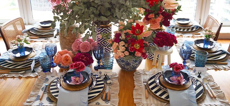 Mesa para o Dia das Mães - Por Lavínia Francesca